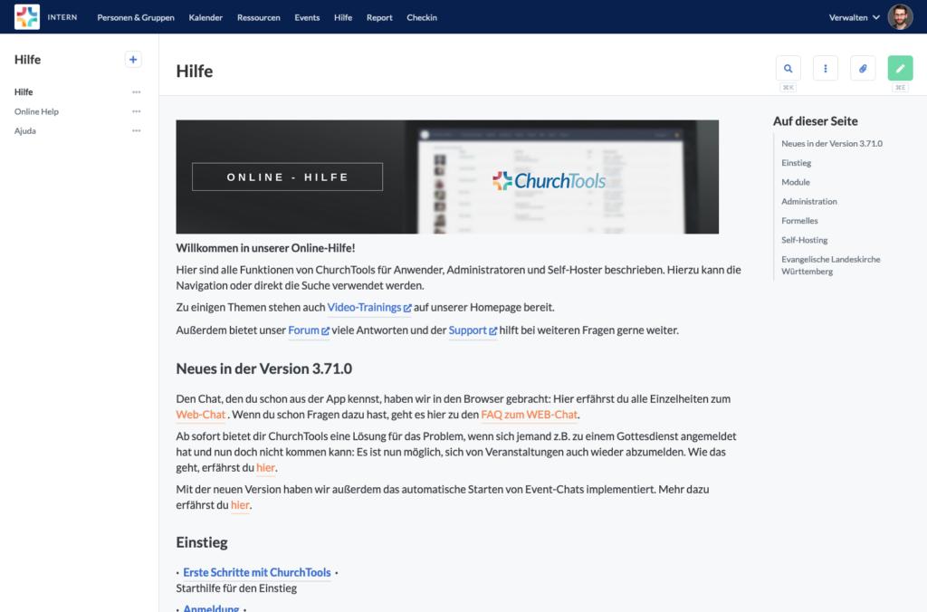 Screenshot: Wiki 2.0 Redesign